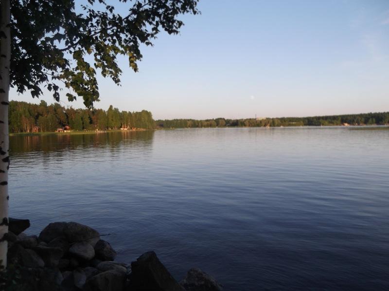 My view, over 10PM, towards the koko in Joensuu