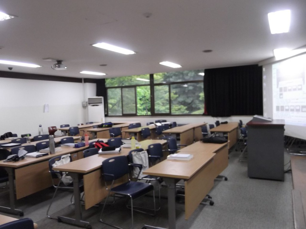 Inside the classroom